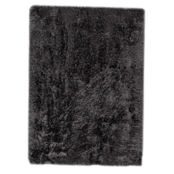 Hand-woven Indo Dubai Charcoal Rug (4'6 x 6'6)