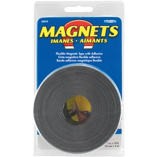 "Master Magnetics 07019 1"" X 10' Large Magnetic Tape Roll"