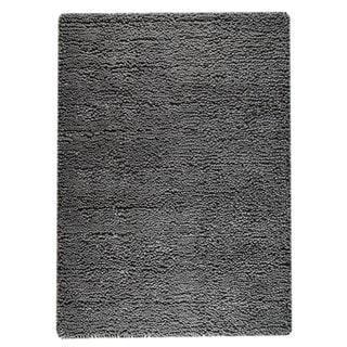 M.A.Trading Hand-woven Indo Berber Dark Grey Rug (3' x 5'4)