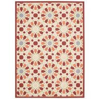 Waverly Sun N' Shade Starry Eyed Flamingo Indoor/ Outdoor Area Rug by Nourison