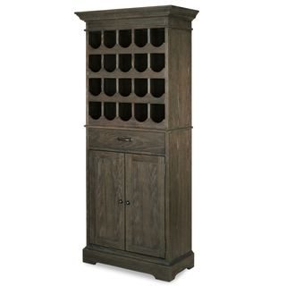 Berkeley 3 Brownstone Tall Wine Cabinet