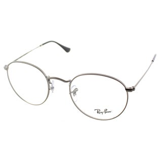 Ray-Ban RX 3447V 2620 Round Matte Gunmetal Metal Eyeglasses 47mm