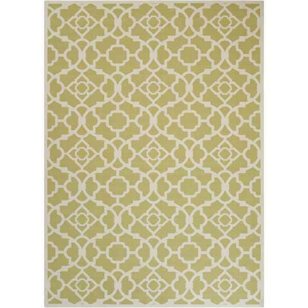 Waverly Sun N' Shade Lovely Lattice Garden Indoor/ Outdoor Rug by Nourison