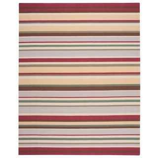 Nourison Home and Garden Indoor/Outdoor Grey Rug (7'6 x 9'6)