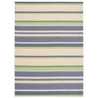 Nourison Home and Garden Indoor/Outdoor Purple Rug (3' x 5')