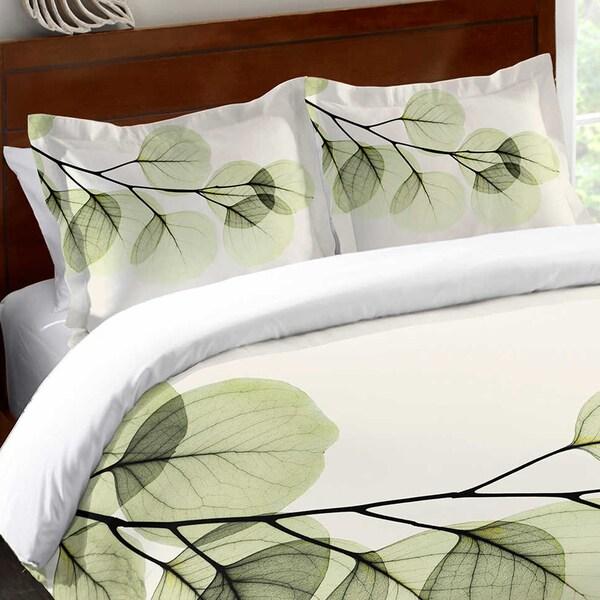 Laural Home X-Ray Leaf Standard Pillow Sham