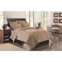 Greenland Home Fashions  Kahlua Mocha 3-Piece Quilt Set