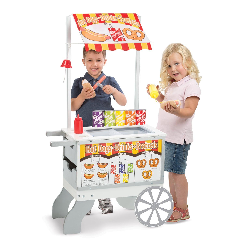 Melissa and Doug Snacks & Sweets Food Cart (Multi), Yello...