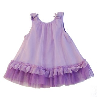 Net Overlay Princess Play Dress Set