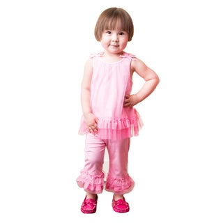 Net Overlay Princess Play Dress Set