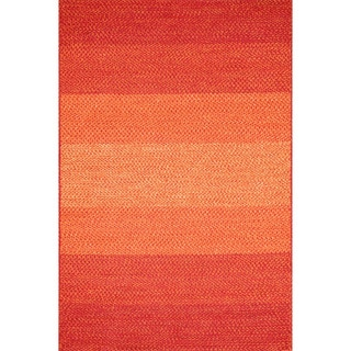 Indoor/ Outdoor Braided Spice Rug (2'3 x 3'9)