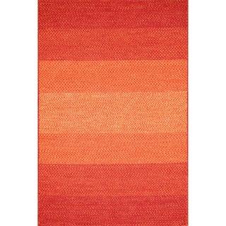 Indoor/ Outdoor Braided Spice Rug (3'6 x 5'6)