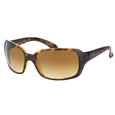 Ray-Ban RB 4068 710/51 Light Havana Plastic Fashion Sunglasses Brown Gradient Lens