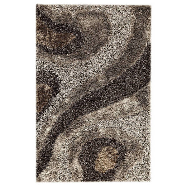 M.A.Trading Hand-Tufted Indo Dunes Grey Rug (7'10 x 9'10)
