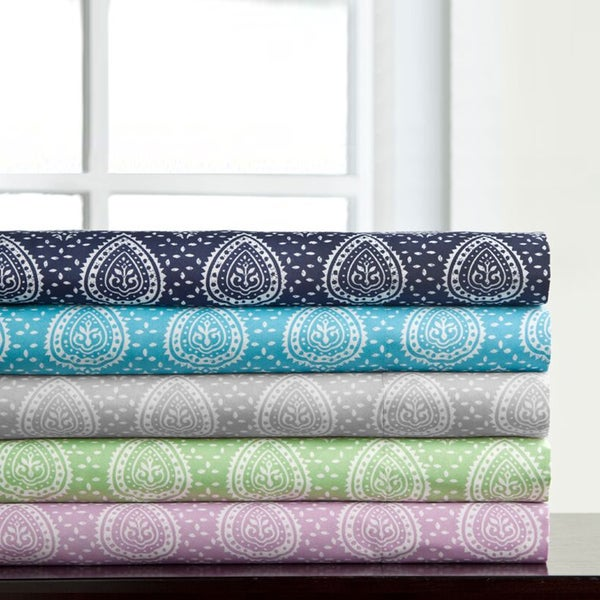Incredibly Soft 4-Piece Medallion Sheet Set