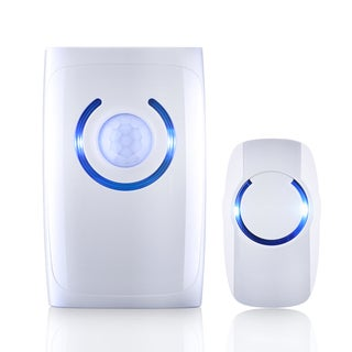 Wireless Doorbell, Security Alarm, and Calling Buzzer with Motion Sensor Light and Emergency Light