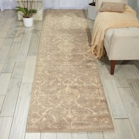 "Nourison Silk Elements Moss Area Rug (2'5 x 10') - 2'5""x10'"