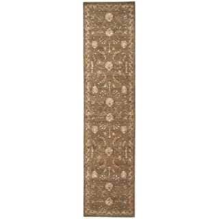 Nourison Silk Elements Cocoa Area Rug (2'5 x 10')