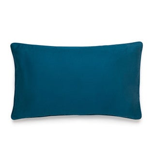 Amy Sia Midnight  Storm Solid Sateen Breakfast Pillow