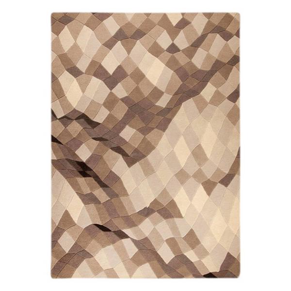 Handmade M.A.Trading Indo Shades Grey Rug (7'10 x 9'10) (India)