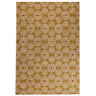 M.A.Trading Hand-Tufted Indo Normandie Gold Rug (7'10 x 9'10)