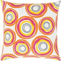Decorative Frieda 22-inch Down or Poly Filled Throw Pillow