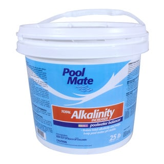 Pool mate calcium increaser free shipping on orders over 45 17140115 Swimming pool high alkalinity