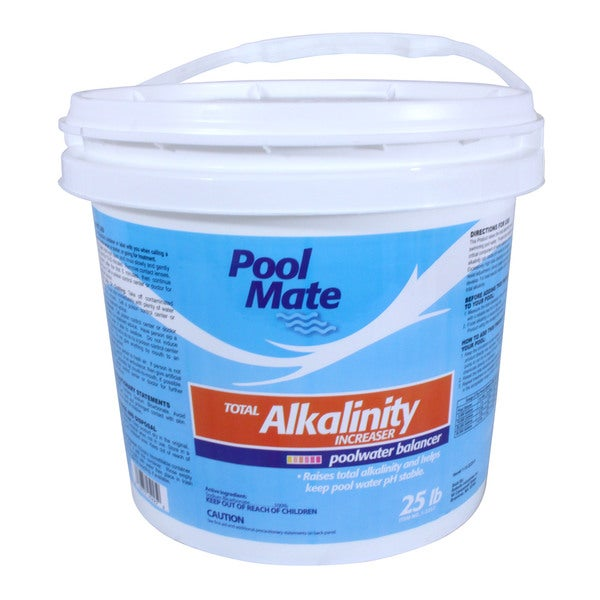 Pool Mate Total Alkalinity Increaser 25 lb.