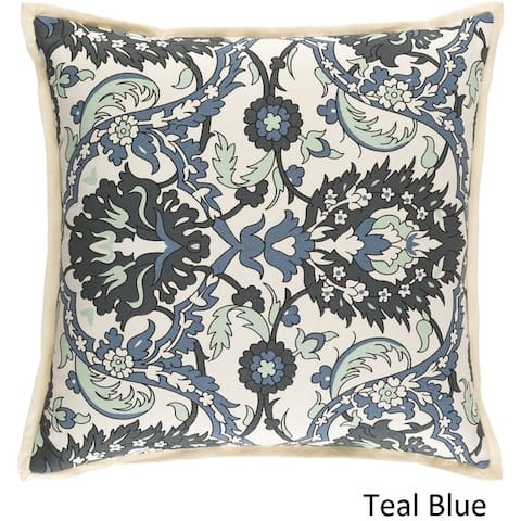 Decorative Ellijay 22-inch Feather Down or Poly Filled Throw Pillow