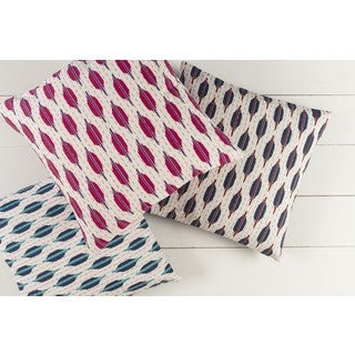Decorative Dreketi 22-inch Down or Poly Filled Throw Pillow
