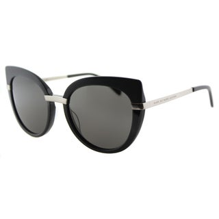 Marc by Marc Jacobs MMJ 489 RHP Black Plastic Cat-Eye Sunglasses Grey Gradient Lens