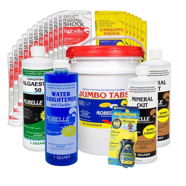 Robelle Chemical Maintenance Kit With 35 lb. Jumbo Tabs