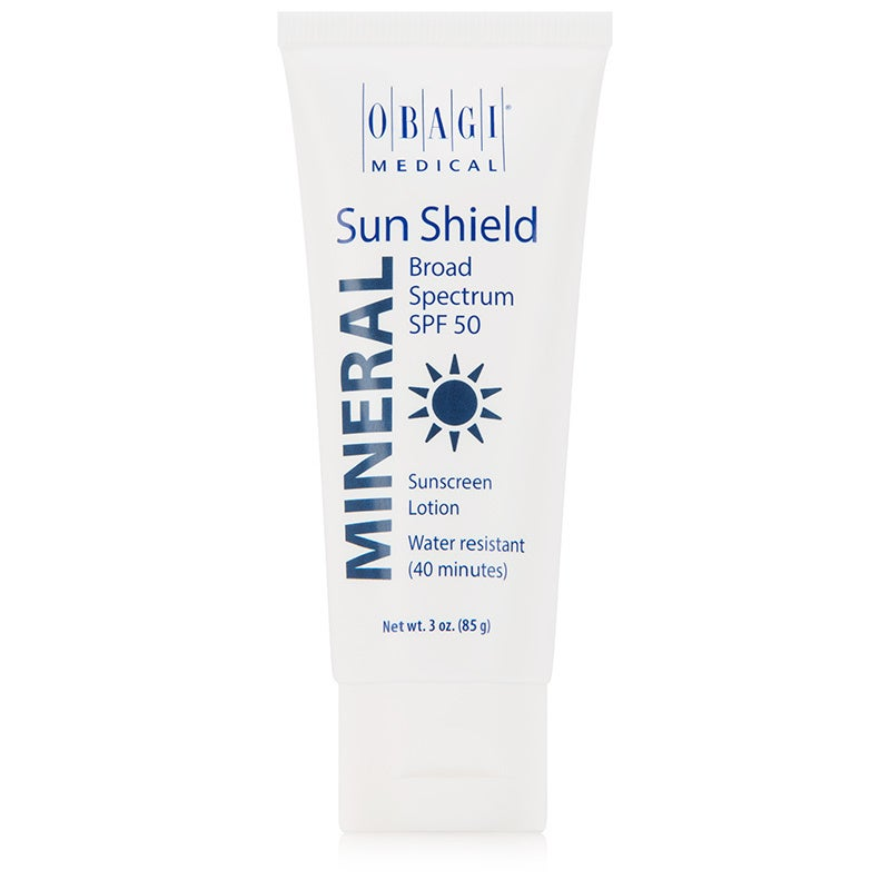 Obagi Sun Shield MINERAL Broad Spectrum SPF 50 Sunscreen 3-ounce Lotion (Pack Of 1)