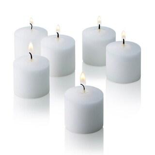 White Jasmine Scented Votive Candles Set of 36 Burn 10 Hours