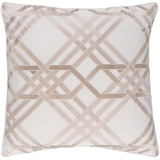 Decorative Eilat 20-inch Down or Poly Filled Throw Pillow
