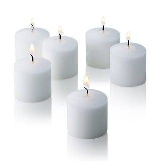 White Jasmine Scented Votive Candles Set of 12 Burn 10 Hours