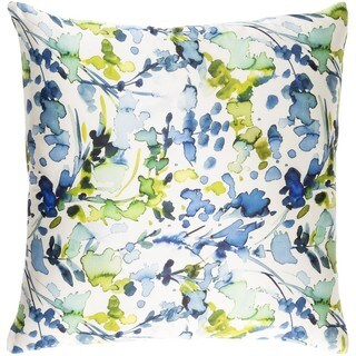 Decorative Frankie 18-inch Down or Poly Filled Throw Pillow (More options available)
