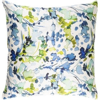 Decorative Frankie 18-inch Feather Down or Poly Filled Throw Pillow