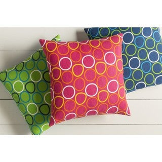 Decorative Essen 18-inch Down or Poly Filled Throw Pillow