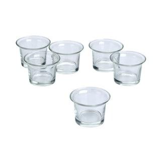 Clear Glass Lip Votive 36-piece Candle Holder Set