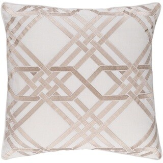 Decorative Eilat 18-inch Down or Poly Filled Throw Pillow