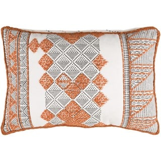 Decorative Gavin Feather Down or Poly Filled Throw Pillow  (13 x 19)