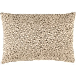 Decorative Elk Grove Down or Poly Filled Throw Pillow (13 x 19)