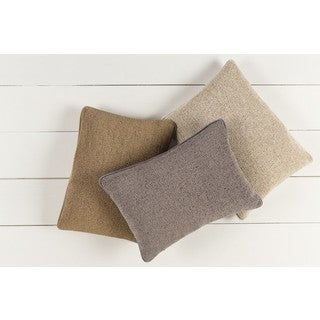 Decorative Dusky Down or Poly Filled Throw Pillow (13 x 19)