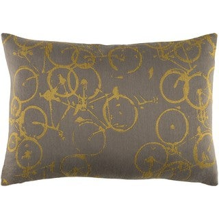 Decorative Leslie Down or Poly Filled Throw Pillow (13 x 19)