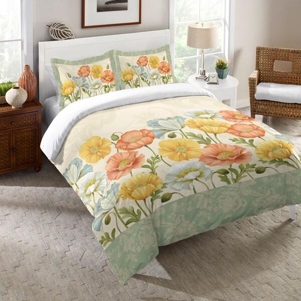 Laural Home Poppy Garden Comforter