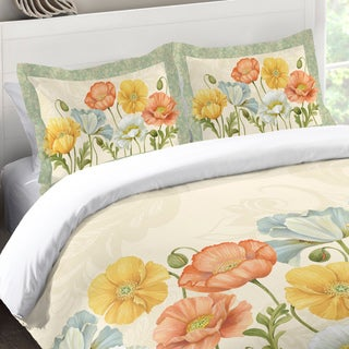Laural Home Poppy Garden Standard Pillow Sham