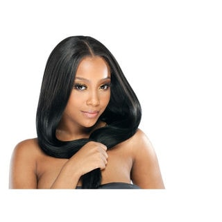 7A-Unprocessed Remy Brazilian Natural Black 100-percent Pure Human Hair Extension