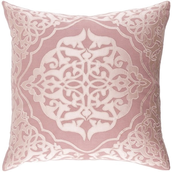 Decorative Fort Collins 18-inch Feather Down or Poly Filled Throw Pillow