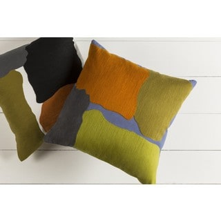 Decorative Cochran 18-inch Down or Poly Filled Throw Pillow